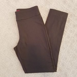 Krazy Larry Brown Skinny Ankle Pants Size 2 A0511